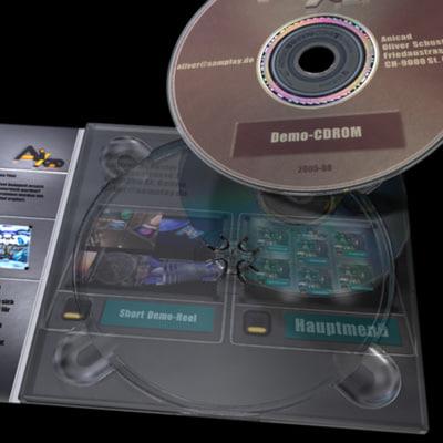 3d model case digipack