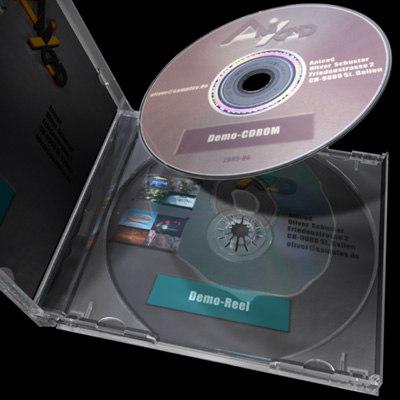 cd jewel 3d model