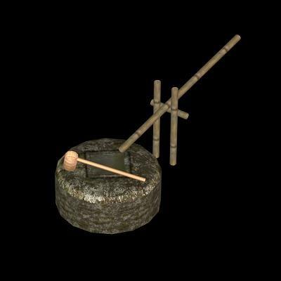 tsukabai japanese garden 3d model