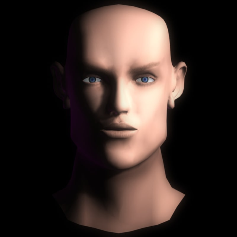 free max model face