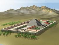Imhotep Sakkara pyramid complex
