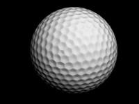golf ball 3d 3ds