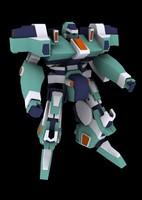 free giant robot 3d model