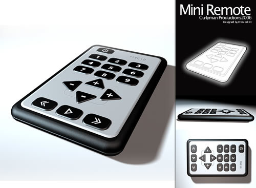pocket remote c4d
