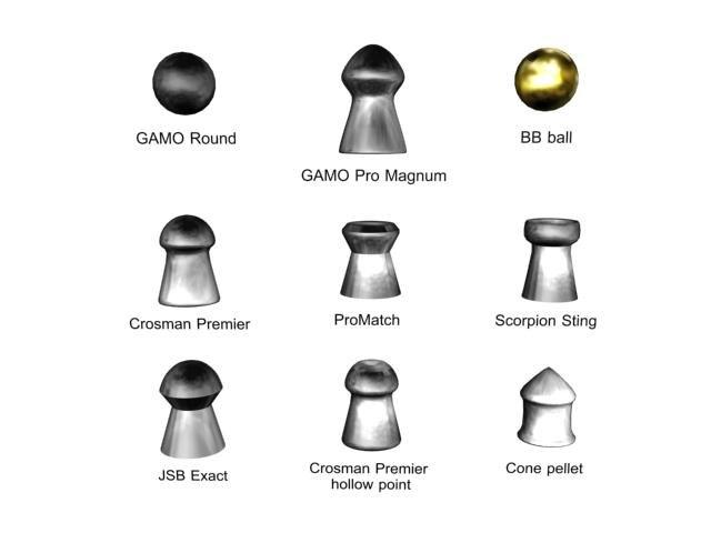 3d max 9 airgun pellets air