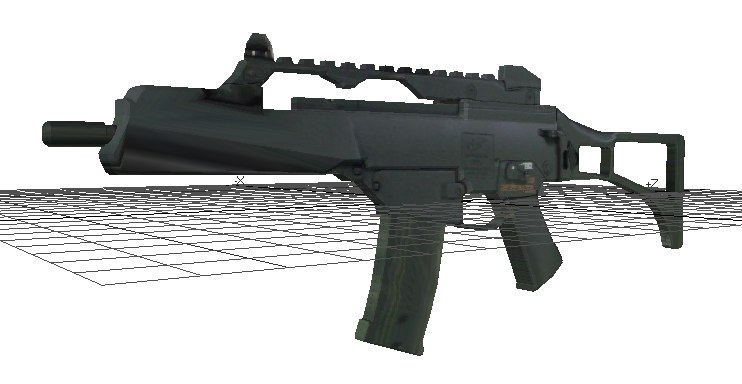 3d model m85 machine gun
