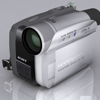 3d camcorder lcd model