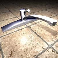3d model kitchen faucet