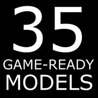 35 Game-Ready Models