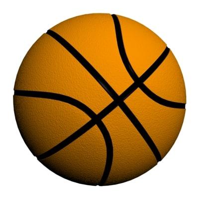 basket ball 3d model