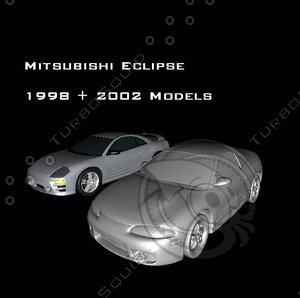 mitsubishi eclipse 3ds free