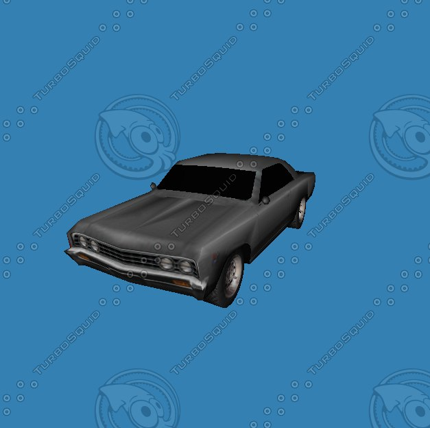 free chevelle 3d model