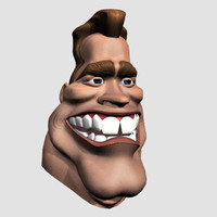 3ds max arnie grotesque personage