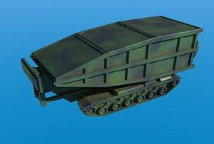 maya m60a1 avlb armored bridge