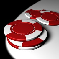 3d max poker chip