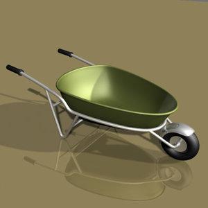 wheelbarrow wheel 3ds