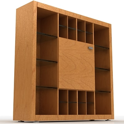 wardrobe console drawer 3d 3ds