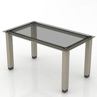 3d table model