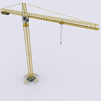 maya tower crane