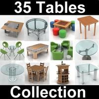 3d model 35 tables