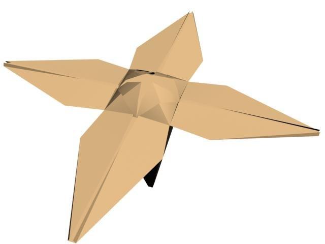 Free Paper Flower 3d Model