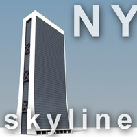 NY skyline - solow building.zip