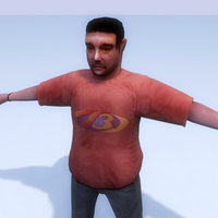 3d human rigged
