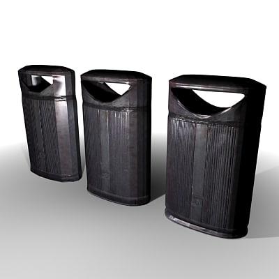 3ds max rubbish bin