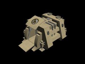 gdi war factory 3d max