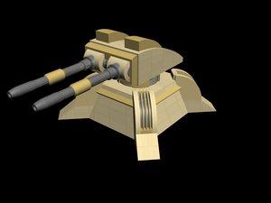 3d model gdi guardian drone