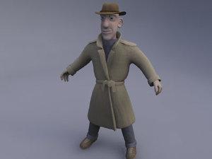 3d character studio model