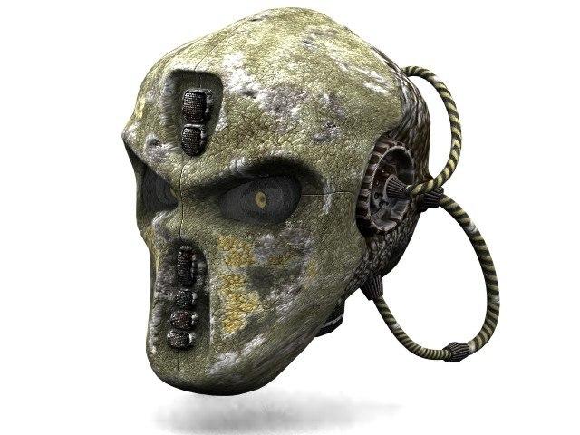 cyborg head max