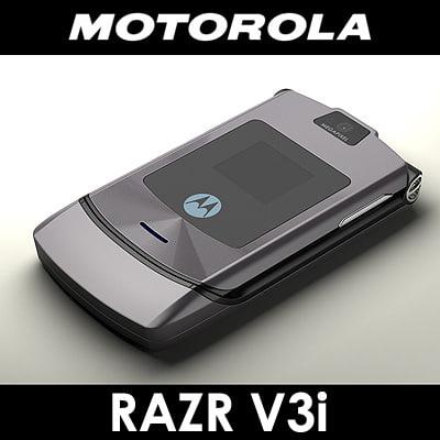 maya motorola v3i razr cell phone