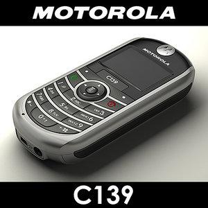 motorola c139 cell phone max
