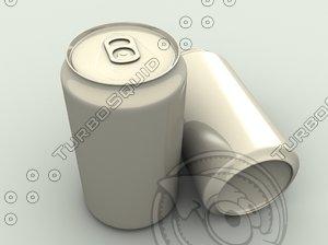3d model 355 ml soda