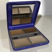 3d model makeup eyeshadow