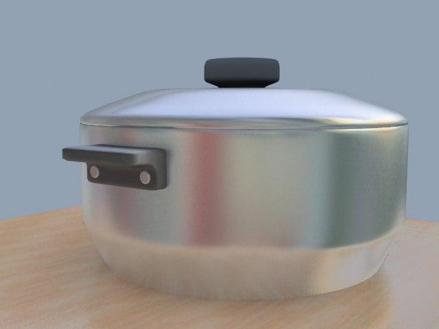 pot kitchen 3d 3ds
