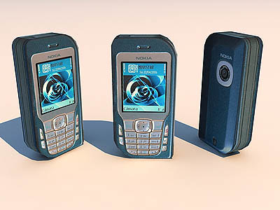 cell phone 3d model