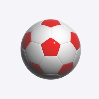 soccer balls 3d max