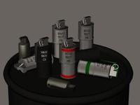 3d model incendinary grenade
