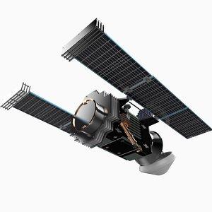 nasa stardust spacecraft 3d c4d