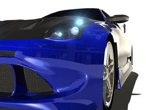 3d model nissan 350z car