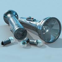 3ds max flashlight bulb