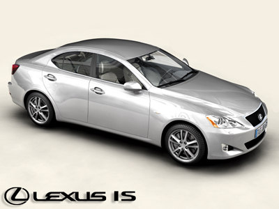 3ds max lexus interior car