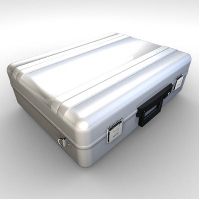 3d dxf security briefcase