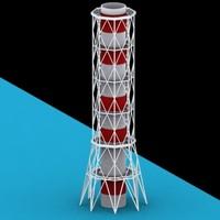 chernobyl reactors 3d max