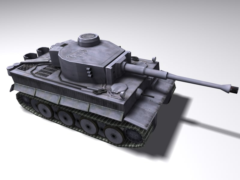 3ds max heavy tank tiger