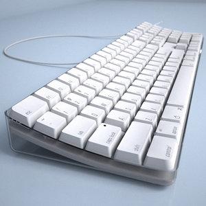 apple keyboard 3d model