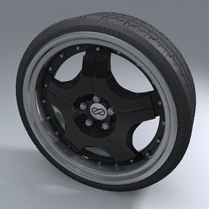 enkei sports wheel tire max