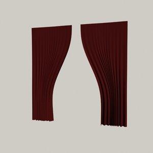 theatre curtains max